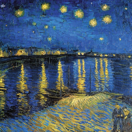 Vincent Van Gogh - The Starry Night [1888] by Gandalf's Gallery
